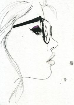 Drawn goggles simple