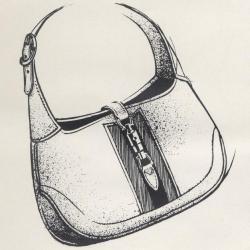Drawn purse old fashioned