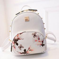 Drawn purse school bag
