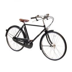 Drawn pushbike classic bicycle