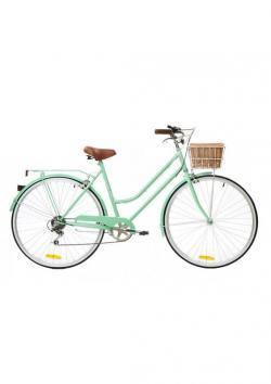 Drawn pushbike vintage bicycle