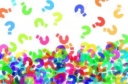 Question Mark clipart bunch