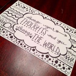 Drawn quote drawing