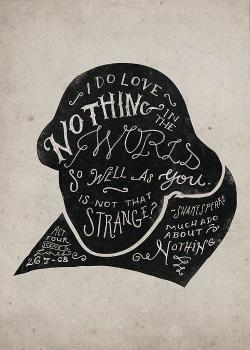 Drawn quote shakespeare