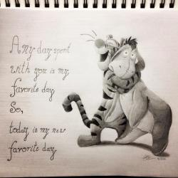 Drawn quoth winnie the pooh