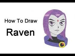 Drawn raven cute