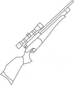 Drawn rifle