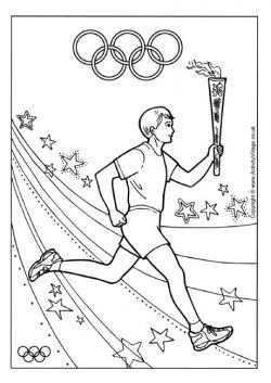 Drawn torch athletic