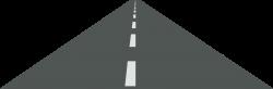 Pathway clipart open road