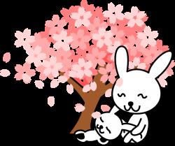 Cherry Tree clipart japan