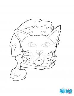 Drawn sanya cat