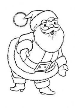 Drawn sanya father christmas