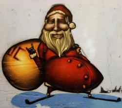 Drawn sanya santa claus