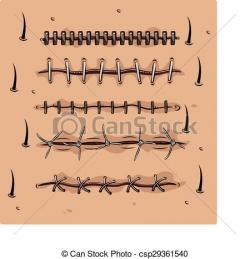 Wound clipart drawing
