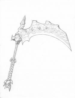 Drawn scythe eclipse scythe