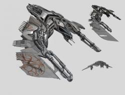 Drawn scythe laser
