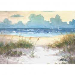 Seascape clipart ocean beach
