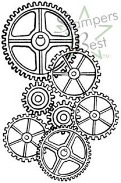 Clockwork clipart clock gear