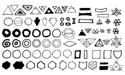 Drawn shapes