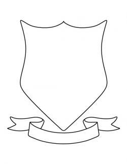 Drawn dove coat arm