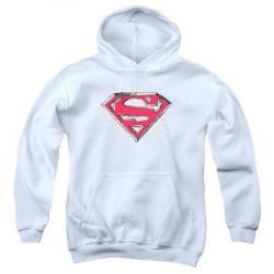 Drawn shield superman