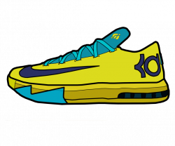 Drawn sneakers kd 6