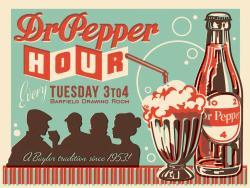 Dr Pepper clipart retro
