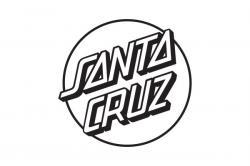 Drawn skateboard santa cruz