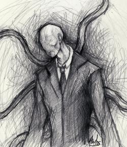 Drawn slenderman