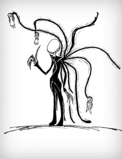 Drawn slenderman adorable