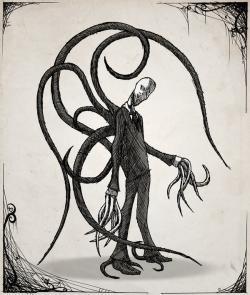 Drawn slenderman deviantart