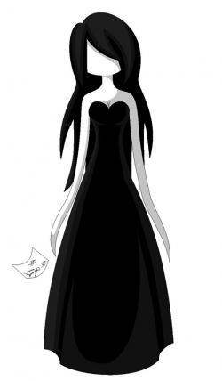 Drawn slenderman female