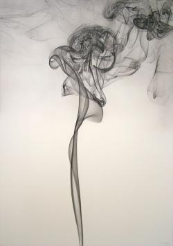 Drawn raven smoke