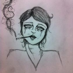 Drawn smoking
