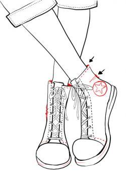 Drawn shoe trainer