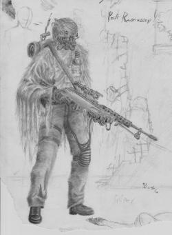 Drawn snipers apocalypse