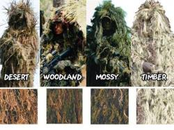 Drawn snipers camouflage