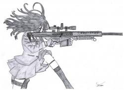 Drawn snipers female