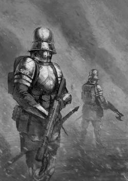 Drawn snipers imperial guard