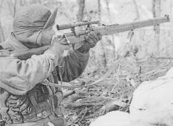 Drawn snipers korean war