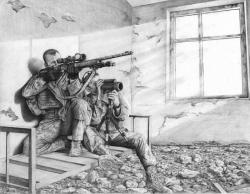 Drawn snipers us army
