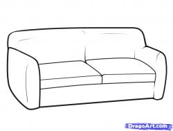 Drawn sofa