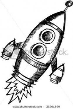 Drawn amd spaceship