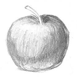 Drawn macbook shaded