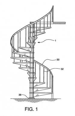 Drawn stairs hard