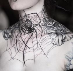 Drawn spider chest