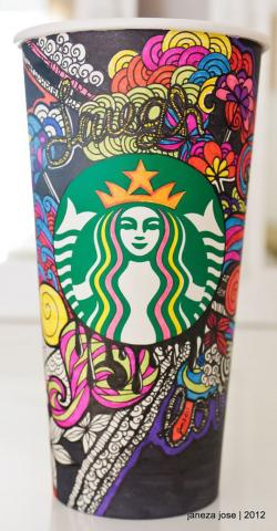 Drawn starbucks fresh top