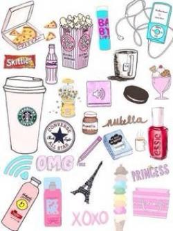 Starbucks clipart girly