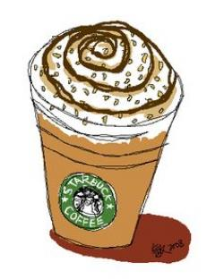 Drawn starbucks romantic