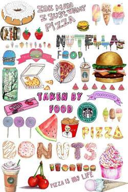 Starbucks clipart collage tumblr